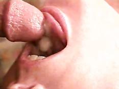 Cum shot close up