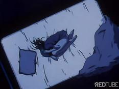 Girl having sex in bed