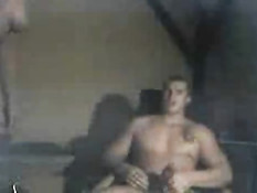 Girl and boyfriend on home video