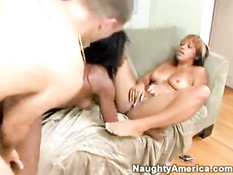 Hot and naughty threesome