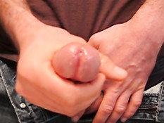 Short wanking and fast cumming