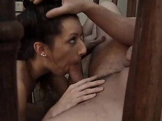 Blowing for cum