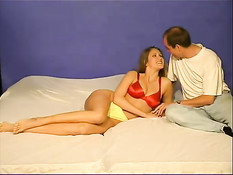 Slut chick licked and fingered