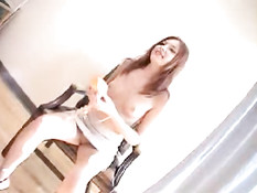 Shy readhead makes nice blowjob 1