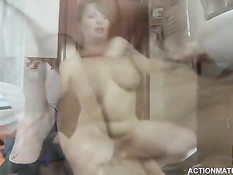 Секс молодого парня со зрелой женщиной