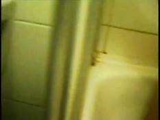 Hot girl under the shower
