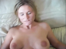 Busty blonde works for you vaginal