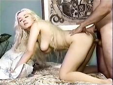 Fucking a blond angel