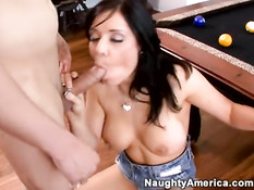 Sexy girl likes taste of cock 1