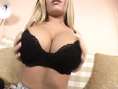 Jessica with her big tits
