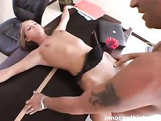 Mckenzee deepthroating her teacher