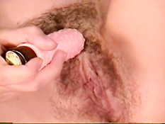 Young Skyler working her hairy pussy