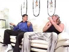 Missy Monroe hard nailed by two dicks