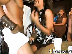 Ebony stripper on girlparty