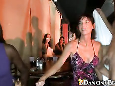 Cockdangling on girlparty