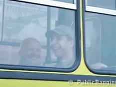 Секс в рейсовом автобусе в Питере