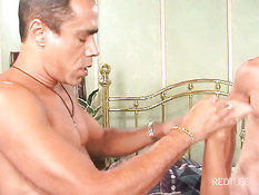 Horny body longs for two cocks