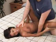 Ebony Fucks A White Guy