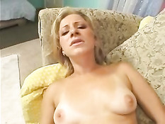 A Russian Chick In The USA Loves It Big!