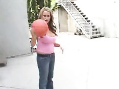 Brandy Talore Shoots Some Hoops