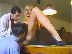Anita Blonde's Dirty Poolhall Story