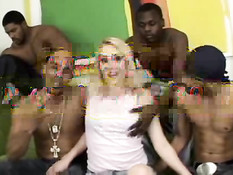 Tia Maria & Joslyn James Gangbanged By Black Dicks