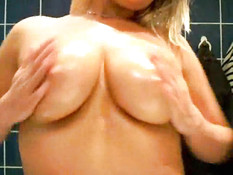 Give Those Titties A Good N' Oily Massage