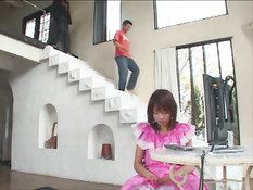 Asian Whore Gets More Than She Can Handle