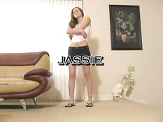 Hot Jassie Goes For A Big Baloney