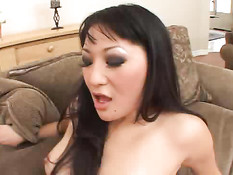 Asian Girls Goes For An African Ride