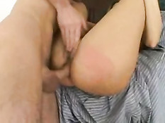 Darryl Hanah Enjoys Getting Fucked On The Sofa