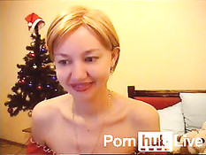 Lera Beauty From Pornhublive Plays With Nipples & Hairy Snatch Wearing S