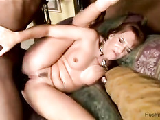Joselyn Pink exploring big black cock