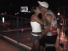 Nice Latina Having Sex Outdoor