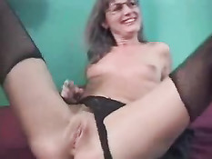 Old Hag Rocks On A Cock
