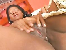 Mature Latina Takes A Ride