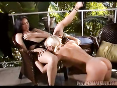 Licking pussy and ass