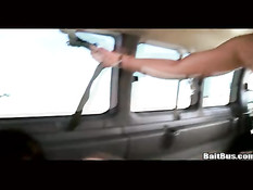 Cute boys sharing a limo