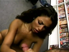 Hot black woman