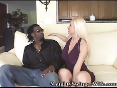 Black dick is better than filming husband