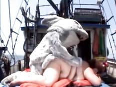 Sexy shark fucking mature