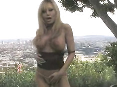 Cindy Pucci stripping