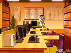 Секс в нижнем белье в офисе