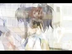 Студентка аниме занимается сексом после занятий