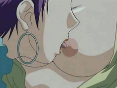 Хардкорный секс молодой аниме парочки