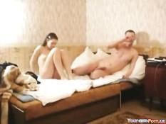 Любительское порно молодой пары снятое скрытой камерой