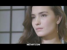 Модель журнала METART - девушка Франсин