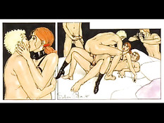 Эротические комиксы секс приключений рыжей девчонки