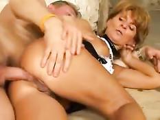 Нарезка порно клипов с женщинами любящими анальный секс