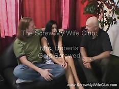 Горячая жена любящая свинг оттрахана и обкончана спермой